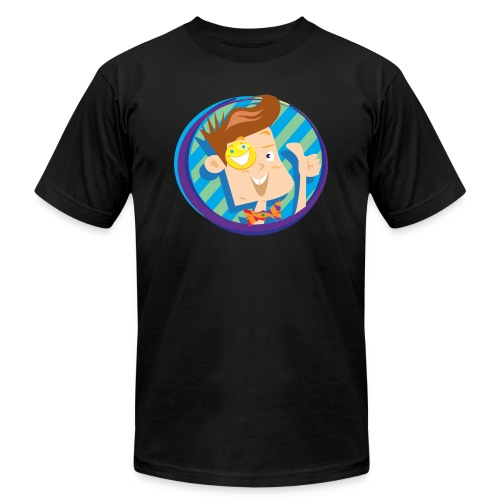 funnel boy - Unisex Jersey T-Shirt by Bella + Canvas