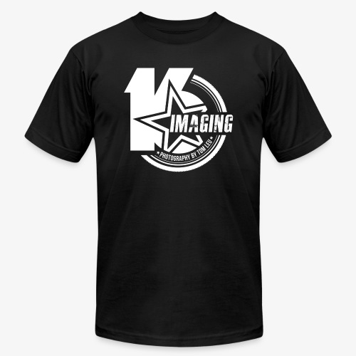 16IMAGING Badge White - Unisex Jersey T-Shirt by Bella + Canvas