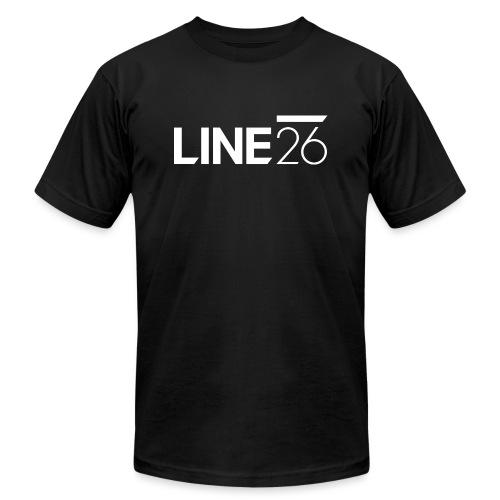 Line26 Logo (Light Version) - Unisex Jersey T-Shirt by Bella + Canvas