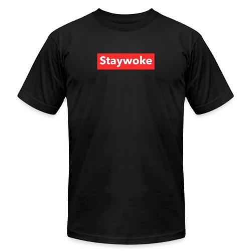 Stay woke - Unisex Jersey T-Shirt by Bella + Canvas