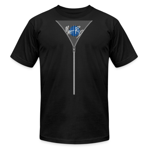 zipper05 - Unisex Jersey T-Shirt by Bella + Canvas