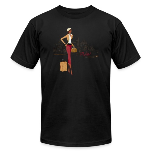 BrowOutfitPNG png - Unisex Jersey T-Shirt by Bella + Canvas