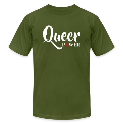 Queer Power T-Shirt 04 - Unisex Jersey T-Shirt by Bella + Canvas