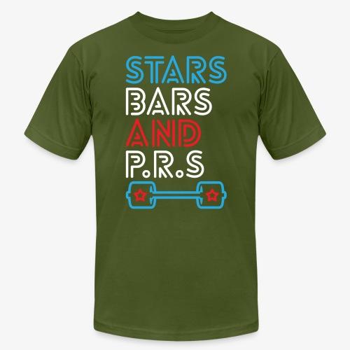 Stars, Bars And PRs - Men's  Jersey T-Shirt