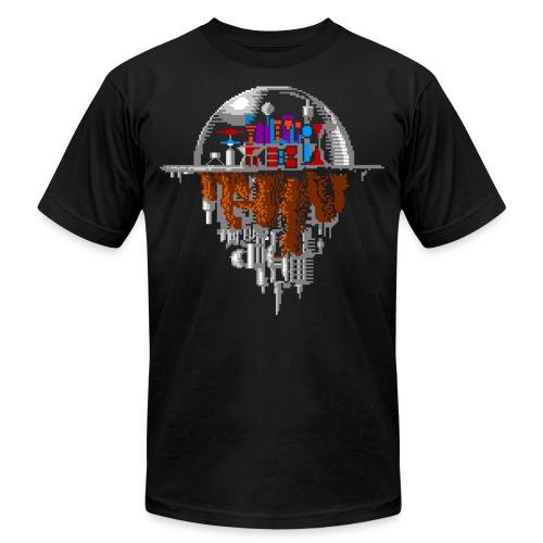Sky city - Unisex Jersey T-Shirt by Bella + Canvas