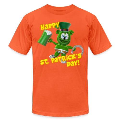 Gummibär (The Gummy Bear) Saint Patrick's Day - Unisex Jersey T-Shirt by Bella + Canvas