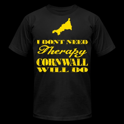 Don't need therapy/Cornwall - Unisex Jersey T-Shirt by Bella + Canvas