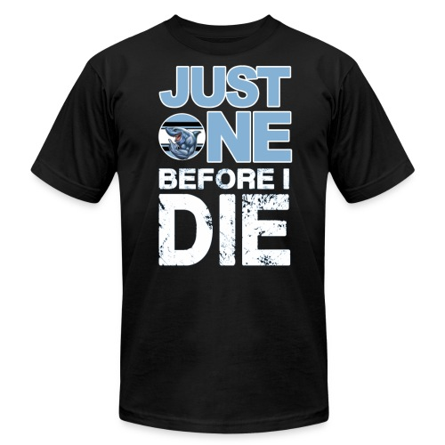 Sharks One Before I Die - Men's Jersey T-Shirt