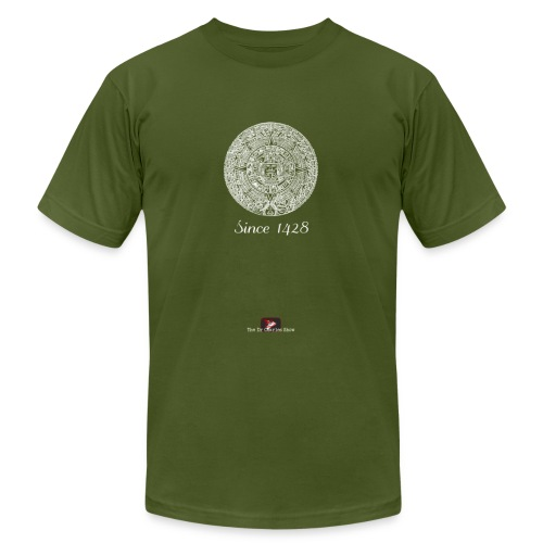 Since 1428 Aztec Design! - Unisex Jersey T-Shirt by Bella + Canvas