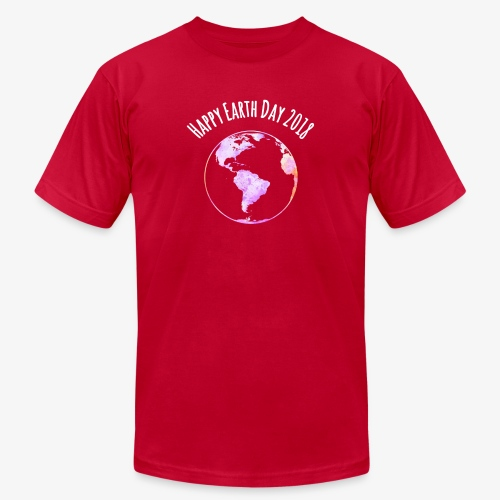 Happy Earth Day 2018 T-shirt - Unisex Jersey T-Shirt by Bella + Canvas