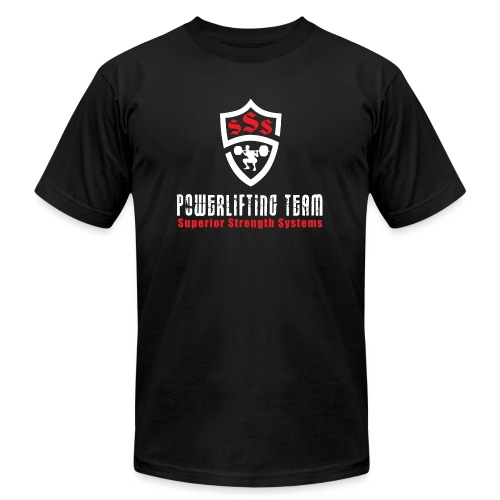 Powerlifting Team - Unisex Jersey T-Shirt by Bella + Canvas