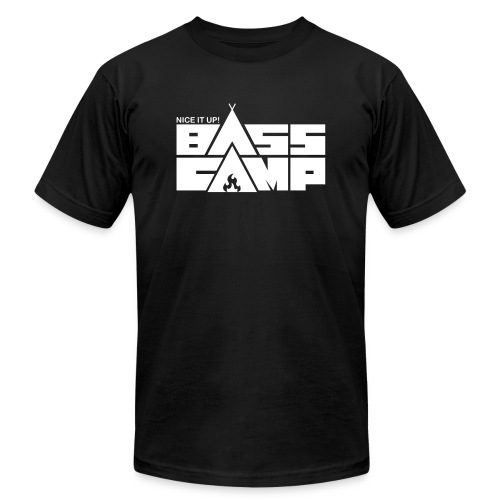 Nice it up! Bass Camp Logo - Unisex Jersey T-Shirt by Bella + Canvas