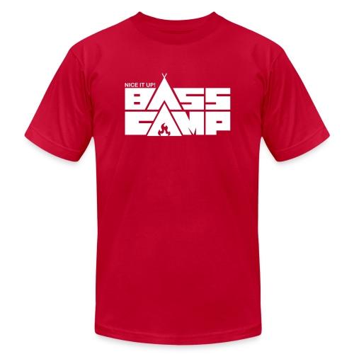 Nice it up! Bass Camp Logo - Unisex Jersey T-Shirt by Bella + Canvas