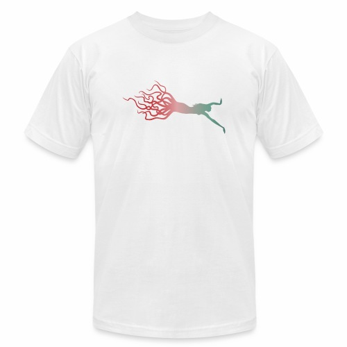 Octowoman fade - Men's  Jersey T-Shirt
