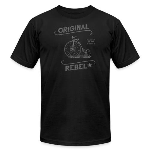 Original Rebel gray - Unisex Jersey T-Shirt by Bella + Canvas
