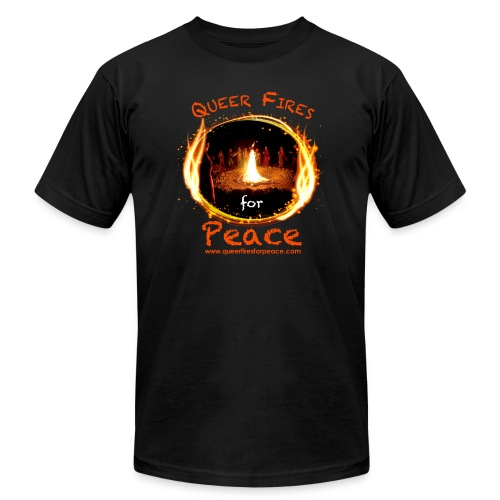 Queer Fires for Peace - Men's  Jersey T-Shirt