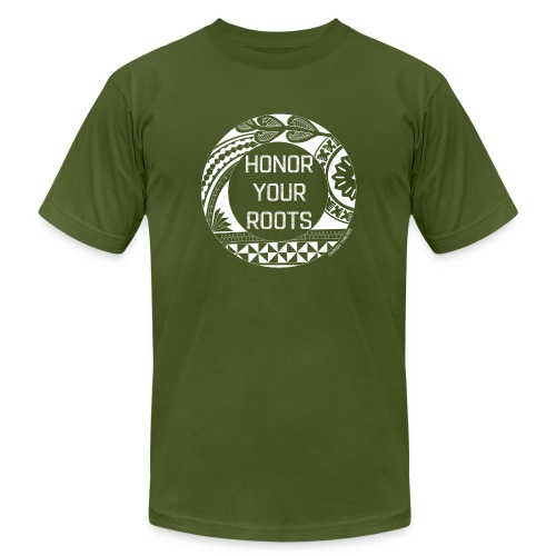 Honor Your Roots (White) - Men's  Jersey T-Shirt