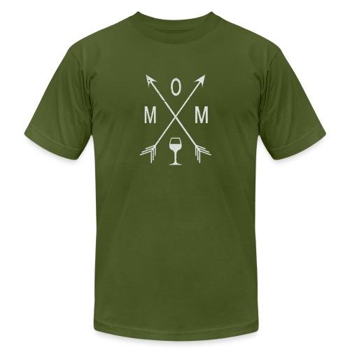 Mom Wine Time - Men's  Jersey T-Shirt