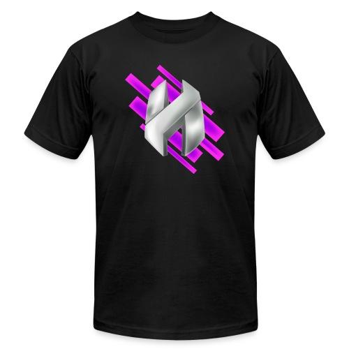 Abstract Purple - Men's  Jersey T-Shirt