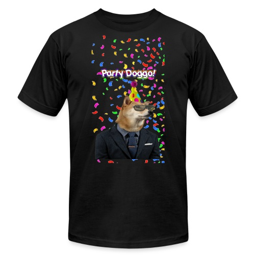 Party Doggo - Unisex Jersey T-Shirt by Bella + Canvas