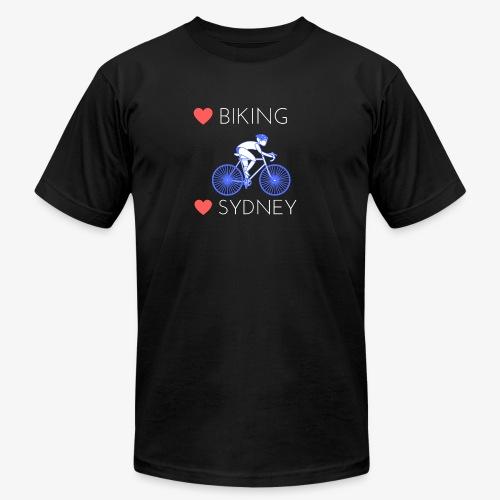 Love Biking Love Sydney tee shirts - Unisex Jersey T-Shirt by Bella + Canvas