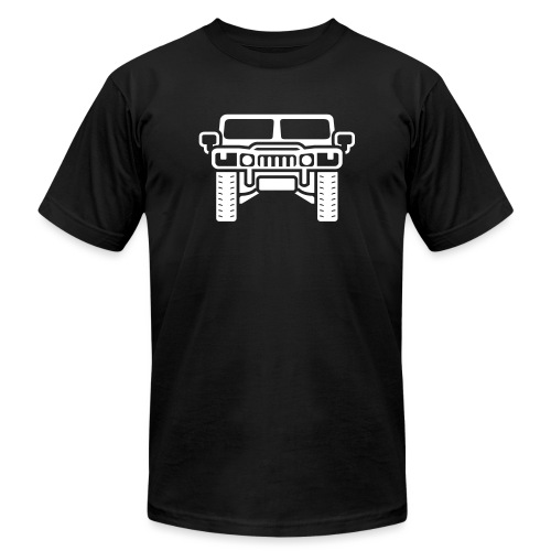 Hummer/Humvee illustration - Men's Jersey T-Shirt