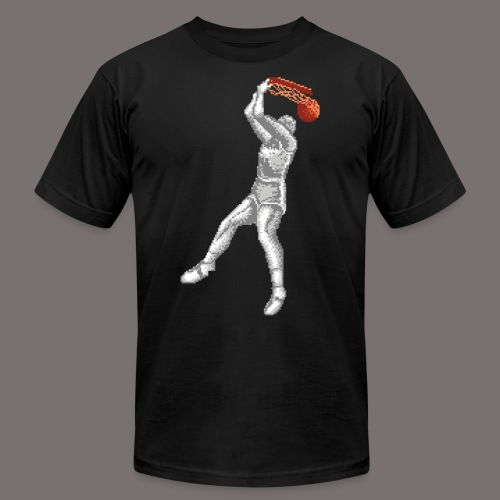 Exciting Basket Double Dribble - Unisex Jersey T-Shirt by Bella + Canvas