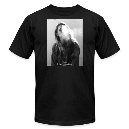 Cr0ss Smoke drop - Unisex Jersey T-Shirt by Bella + Canvas