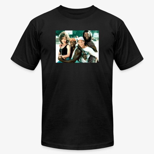White man cant jump - Unisex Jersey T-Shirt by Bella + Canvas
