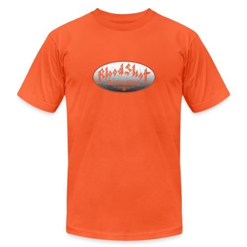 BloodShot Airbrushing Logo - Unisex Jersey T-Shirt by Bella + Canvas