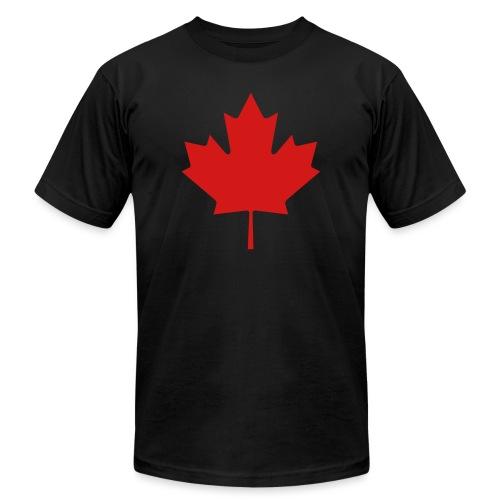 Maple Leaf - Unisex Jersey T-Shirt by Bella + Canvas