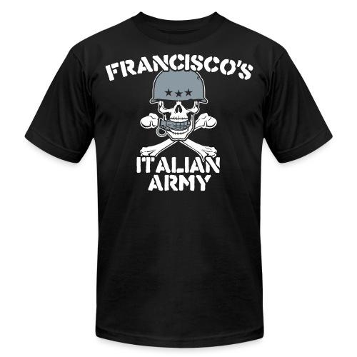 italian army v - Unisex Jersey T-Shirt by Bella + Canvas