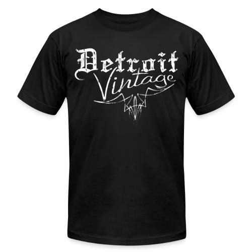 Detroit Vintage - Unisex Jersey T-Shirt by Bella + Canvas