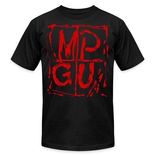 MPGU RED STROKE - Men's  Jersey T-Shirt