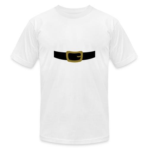SANTA CLAUS SUIT - Men's Polo Shirt - Unisex Jersey T-Shirt by Bella + Canvas