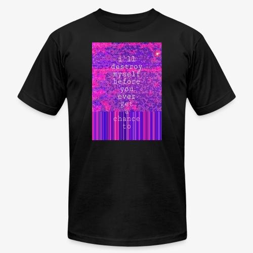 choice of destruction - Men's  Jersey T-Shirt