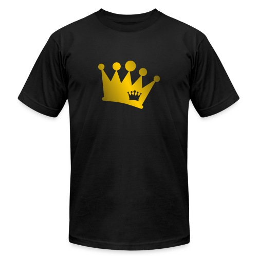 Double Crown gold - Unisex Jersey T-Shirt by Bella + Canvas