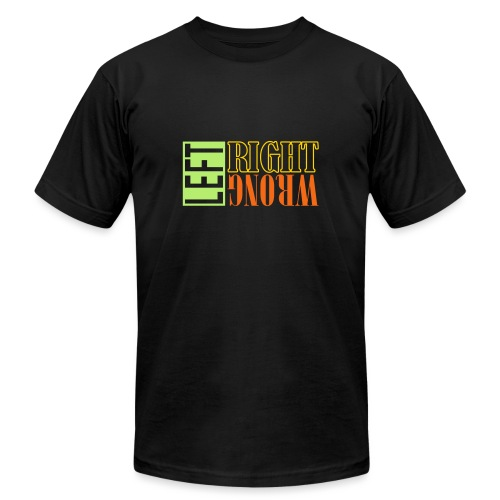 Left Right Wrong 3 - Unisex Jersey T-Shirt by Bella + Canvas