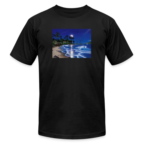 full moon - Men's Jersey T-Shirt