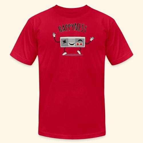 happyness2 motiv - Unisex Jersey T-Shirt by Bella + Canvas