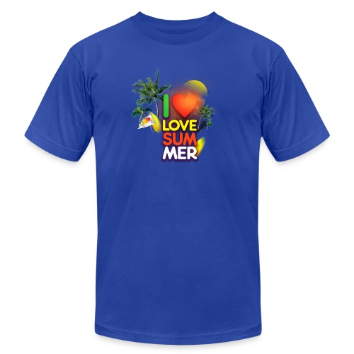 I love summer - Men's Jersey T-Shirt