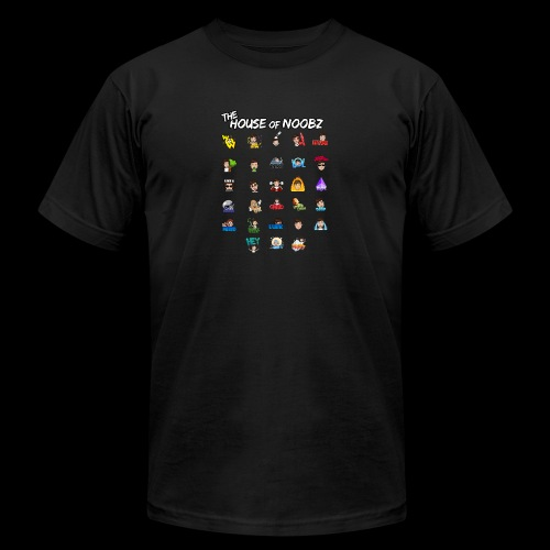 Emote List - Men's  Jersey T-Shirt