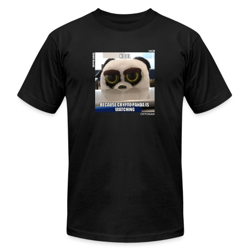 Crypto Panda Is Watching (Crypto Series) - Unisex Jersey T-Shirt by Bella + Canvas