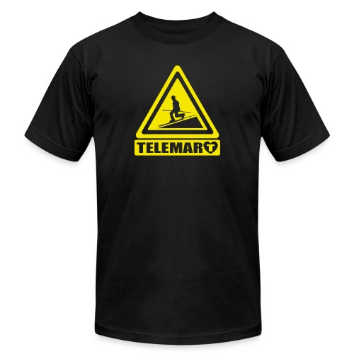 Telemark Warning Classic - Unisex Jersey T-Shirt by Bella + Canvas