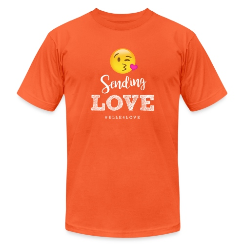 Sending Love - Unisex Jersey T-Shirt by Bella + Canvas
