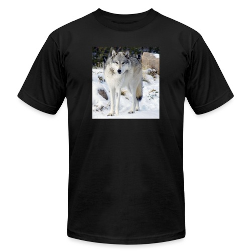 Canis lupus occidentalis - Unisex Jersey T-Shirt by Bella + Canvas