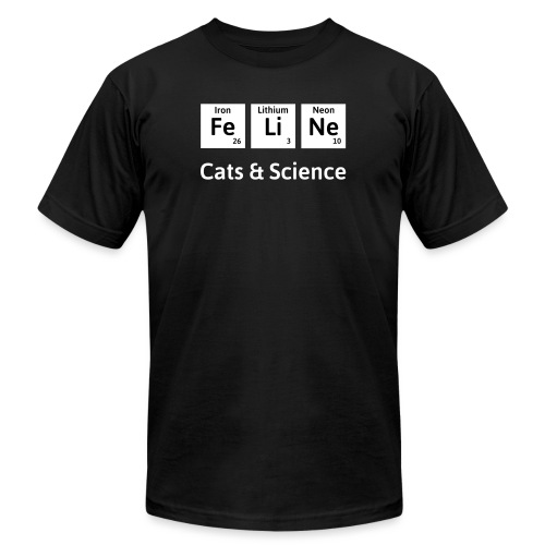 Cats & Science - Unisex Jersey T-Shirt by Bella + Canvas