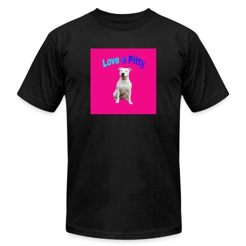 Pink Pit Bull - Men's Jersey T-Shirt