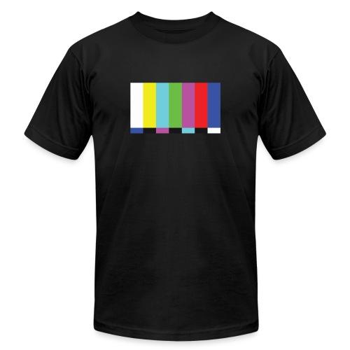 TV Test - Unisex Jersey T-Shirt by Bella + Canvas