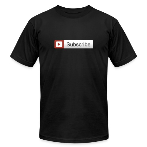 YOUTUBE SUBSCRIBE - Unisex Jersey T-Shirt by Bella + Canvas